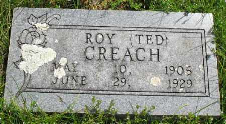 CREACH, ROY - Marion County, Arkansas | ROY CREACH - Arkansas Gravestone Photos