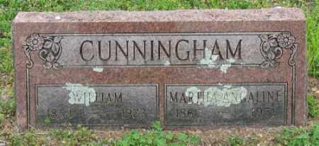 CUNNINGHAM, WILLIAM - Marion County, Arkansas | WILLIAM CUNNINGHAM - Arkansas Gravestone Photos