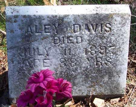 DAVIS, ALEY - Marion County, Arkansas | ALEY DAVIS - Arkansas Gravestone Photos