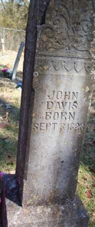 DAVIS, JOHN - Marion County, Arkansas | JOHN DAVIS - Arkansas Gravestone Photos