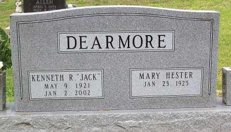 "DEARMORE, KENNETH R. ""JACK"" - Marion County, Arkansas 