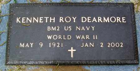 DEARMORE (VETERAN WWII), KENNETH ROY - Marion County, Arkansas | KENNETH ROY DEARMORE (VETERAN WWII) - Arkansas Gravestone Photos