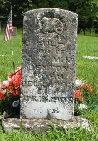 DENTON, GULT - Marion County, Arkansas | GULT DENTON - Arkansas Gravestone Photos
