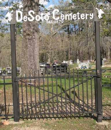 *DESOTO CEMETERY GATE,  - Marion County, Arkansas |  *DESOTO CEMETERY GATE - Arkansas Gravestone Photos