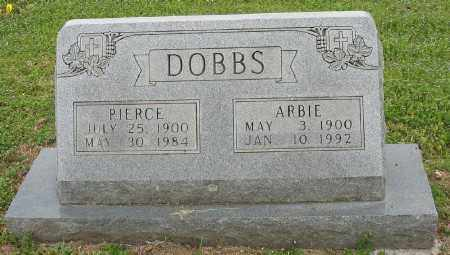 DOBBS, PIERCE - Marion County, Arkansas | PIERCE DOBBS - Arkansas Gravestone Photos