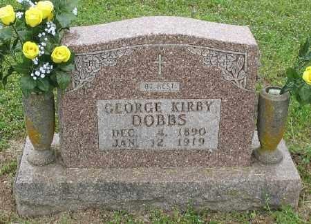 DOBBS, GEORGE KIRBY - Marion County, Arkansas | GEORGE KIRBY DOBBS - Arkansas Gravestone Photos