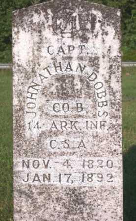 DOBBS (VETERAN CSA), JONATHAN - Marion County, Arkansas | JONATHAN DOBBS (VETERAN CSA) - Arkansas Gravestone Photos