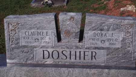 DOSHIER, CLAUDIE E. - Marion County, Arkansas | CLAUDIE E. DOSHIER - Arkansas Gravestone Photos