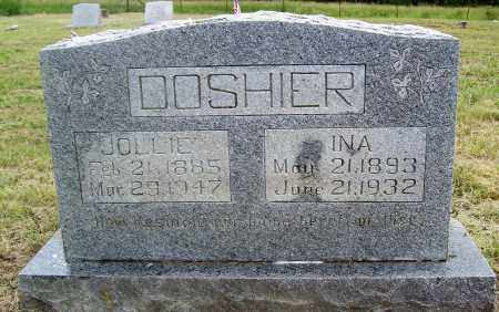 DOSHIER, INA - Marion County, Arkansas | INA DOSHIER - Arkansas Gravestone Photos