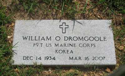 DROMGOOLE (VETERAN KOR), WILLIAM O. - Marion County, Arkansas | WILLIAM O. DROMGOOLE (VETERAN KOR) - Arkansas Gravestone Photos