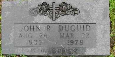 DUGUID, JOHN R. - Marion County, Arkansas | JOHN R. DUGUID - Arkansas Gravestone Photos