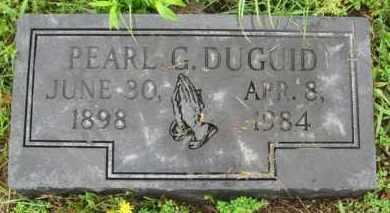 DUGUID, PEARL G. - Marion County, Arkansas | PEARL G. DUGUID - Arkansas Gravestone Photos