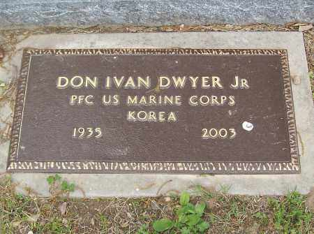 DWYER, JR (VETERAN KOR), DON IVAN - Marion County, Arkansas | DON IVAN DWYER, JR (VETERAN KOR) - Arkansas Gravestone Photos