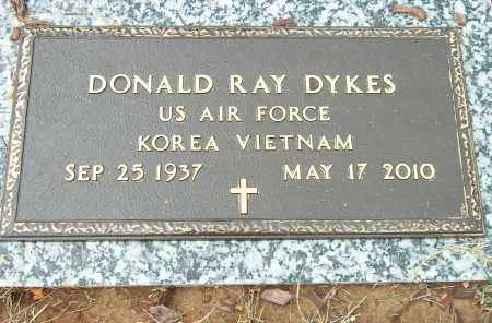 DYKES (VETERAN 2 WARS), DONALD RAY - Marion County, Arkansas | DONALD RAY DYKES (VETERAN 2 WARS) - Arkansas Gravestone Photos