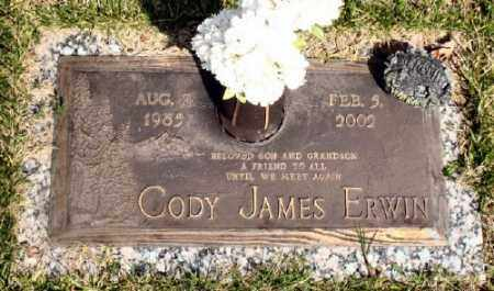 ERWIN, CODY JAMES - Marion County, Arkansas | CODY JAMES ERWIN - Arkansas Gravestone Photos