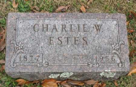 ESTES, CHARLIE W. - Marion County, Arkansas | CHARLIE W. ESTES - Arkansas Gravestone Photos