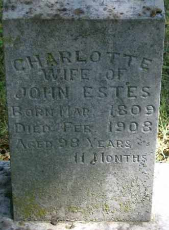 ESTES, CHARLOTTE - Marion County, Arkansas | CHARLOTTE ESTES - Arkansas Gravestone Photos