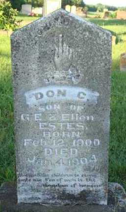 ESTES, DON - Marion County, Arkansas | DON ESTES - Arkansas Gravestone Photos