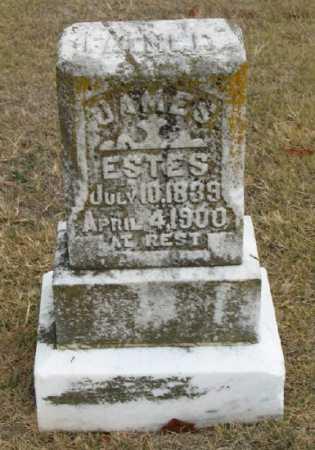 ESTES, JAMES  C. - Marion County, Arkansas | JAMES  C. ESTES - Arkansas Gravestone Photos