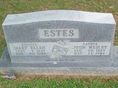 ESTES, MARY ELLEN - Marion County, Arkansas | MARY ELLEN ESTES - Arkansas Gravestone Photos