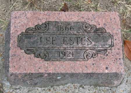 "ESTES, THEOPHALIS ""LEE"" - Marion County, Arkansas 