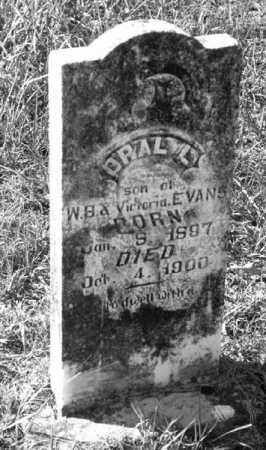 LAMBERT EVANS, OPAL L. - Marion County, Arkansas | OPAL L. LAMBERT EVANS - Arkansas Gravestone Photos