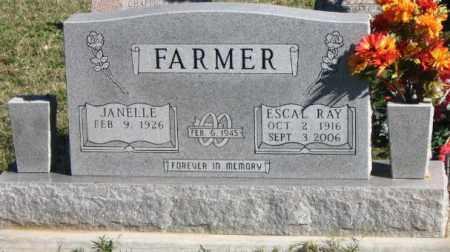 FARMER, ESCAL RAY - Marion County, Arkansas | ESCAL RAY FARMER - Arkansas Gravestone Photos