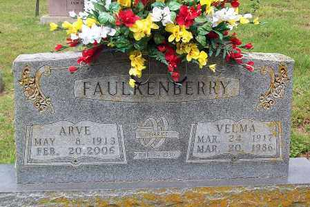 FAULKENBERRY, VELMA - Marion County, Arkansas | VELMA FAULKENBERRY - Arkansas Gravestone Photos