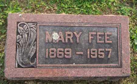 FEE, MARY - Marion County, Arkansas | MARY FEE - Arkansas Gravestone Photos