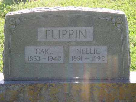 FLIPPIN, NELLIE JANE PANGLE - Marion County, Arkansas | NELLIE JANE PANGLE FLIPPIN - Arkansas Gravestone Photos