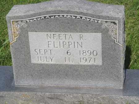 FLIPPIN, NEETA R. - Marion County, Arkansas | NEETA R. FLIPPIN - Arkansas Gravestone Photos