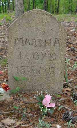 DAVIS FLOYD, MARTHA - Marion County, Arkansas | MARTHA DAVIS FLOYD - Arkansas Gravestone Photos