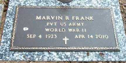FRANK (VETERAN WWII), MARVIN R - Marion County, Arkansas | MARVIN R FRANK (VETERAN WWII) - Arkansas Gravestone Photos