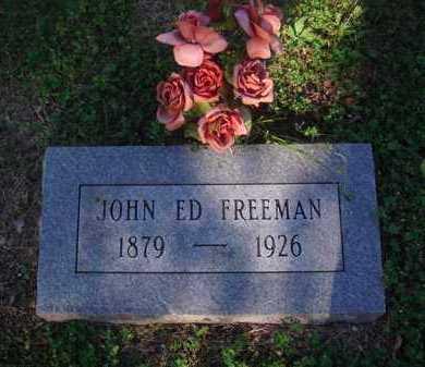 FREEMAN, JOHN ED - Marion County, Arkansas | JOHN ED FREEMAN - Arkansas Gravestone Photos