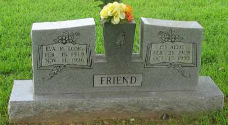 LONG FRIEND, EVA M. - Marion County, Arkansas | EVA M. LONG FRIEND - Arkansas Gravestone Photos