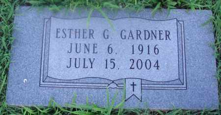 GARDNER, ESTHER G. - Marion County, Arkansas | ESTHER G. GARDNER - Arkansas Gravestone Photos