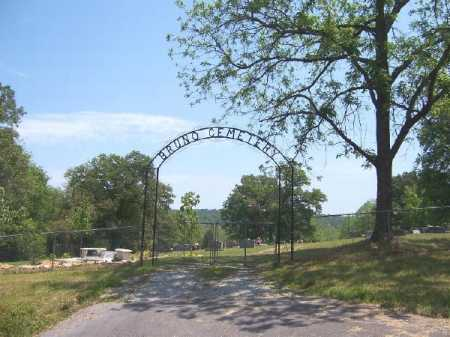 *BRUNO CEMETERY GATE,  - Marion County, Arkansas |  *BRUNO CEMETERY GATE - Arkansas Gravestone Photos