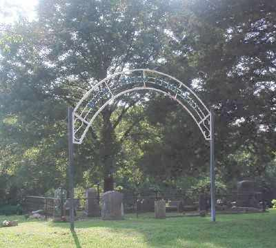 *WICKERSHAM CEMETERY GATE,  - Marion County, Arkansas |  *WICKERSHAM CEMETERY GATE - Arkansas Gravestone Photos