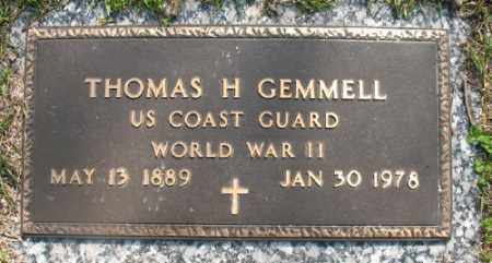 GEMMELL (VETERAN WWII), THOMAS H - Marion County, Arkansas | THOMAS H GEMMELL (VETERAN WWII) - Arkansas Gravestone Photos