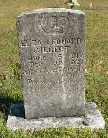 GILBERT, ELZA LEONARD - Marion County, Arkansas | ELZA LEONARD GILBERT - Arkansas Gravestone Photos