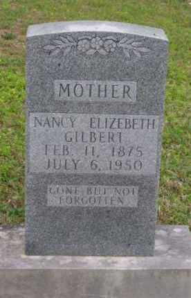GILBERT, NANCY ELIZABETH - Marion County, Arkansas | NANCY ELIZABETH GILBERT - Arkansas Gravestone Photos