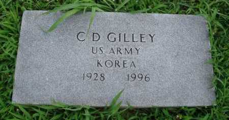 GILLEY  (VETERAN KOR), C. D. - Marion County, Arkansas | C. D. GILLEY  (VETERAN KOR) - Arkansas Gravestone Photos