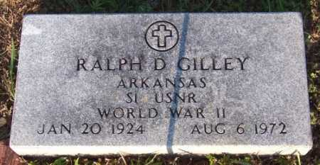 GILLEY (VETERAN WWII), RALPH D - Marion County, Arkansas | RALPH D GILLEY (VETERAN WWII) - Arkansas Gravestone Photos