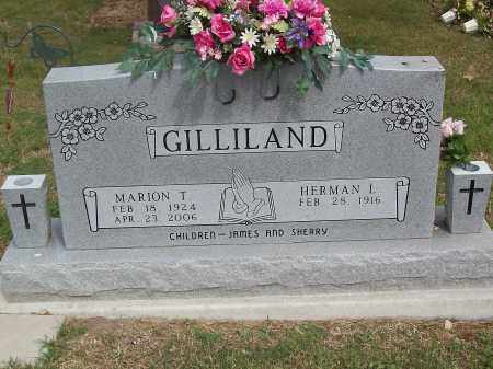 TAYLOR GILLILAND, MARION T. - Marion County, Arkansas | MARION T. TAYLOR GILLILAND - Arkansas Gravestone Photos