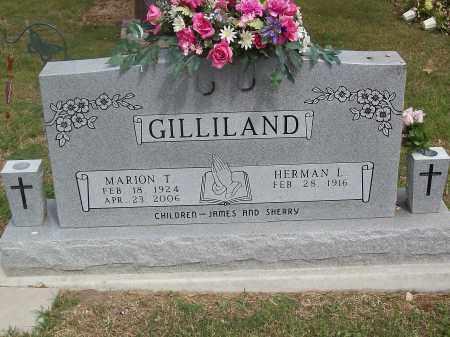 GILLILAND, MARION T. - Marion County, Arkansas | MARION T. GILLILAND - Arkansas Gravestone Photos