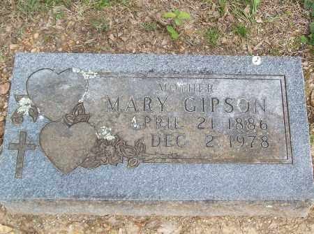 GIPSON, MARY - Marion County, Arkansas | MARY GIPSON - Arkansas Gravestone Photos