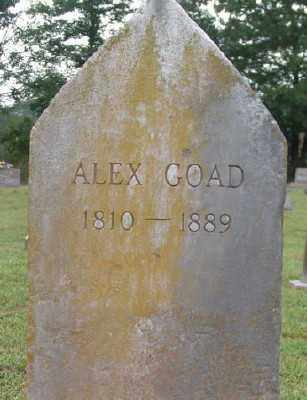GOAD, ALEX - Marion County, Arkansas | ALEX GOAD - Arkansas Gravestone Photos