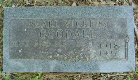 VICKERS GOODALL, PEARL - Marion County, Arkansas | PEARL VICKERS GOODALL - Arkansas Gravestone Photos