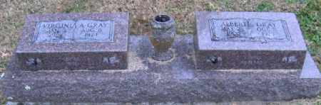 GRAY, ALBERT S. - Marion County, Arkansas | ALBERT S. GRAY - Arkansas Gravestone Photos
