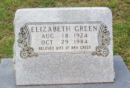 GREEN, ELIZABETH - Marion County, Arkansas | ELIZABETH GREEN - Arkansas Gravestone Photos